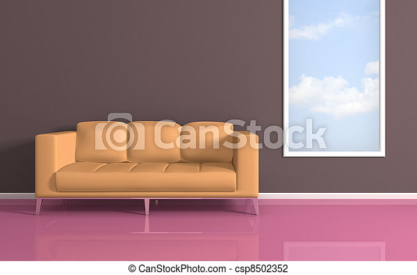 interno, composition., moderno - csp8502352
