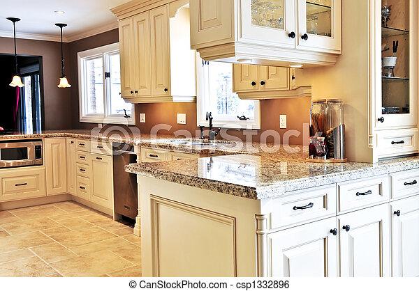 interno, cucina - csp1332896