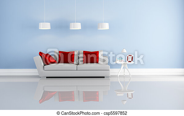 interno, elegante, moderno - csp5597852