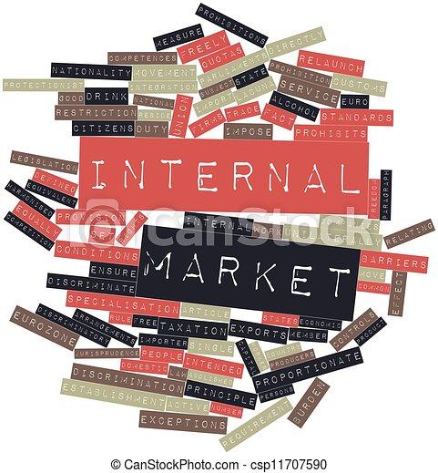 interno, mercato - csp11707590