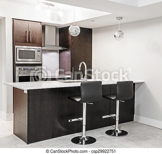 interno, moderno, cucina - csp29922751