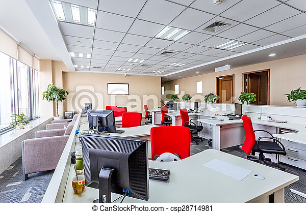interno, moderno, ufficio - csp28714981