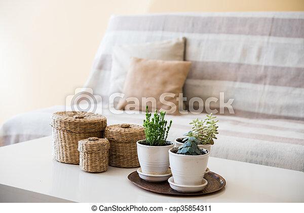 interno, soggiorno - csp35854311