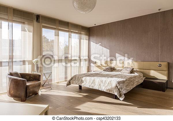 interno, spazioso, camera letto - csp43202133