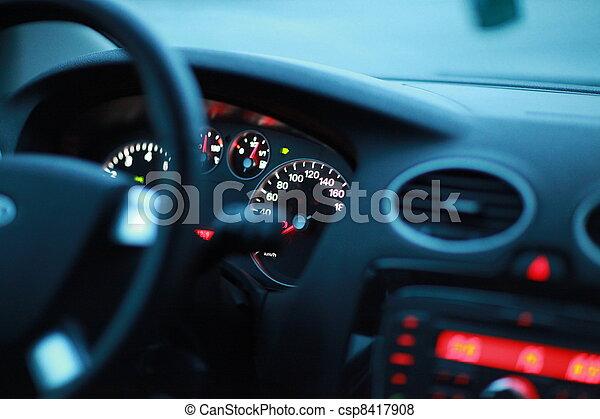 interno, veicolo - csp8417908