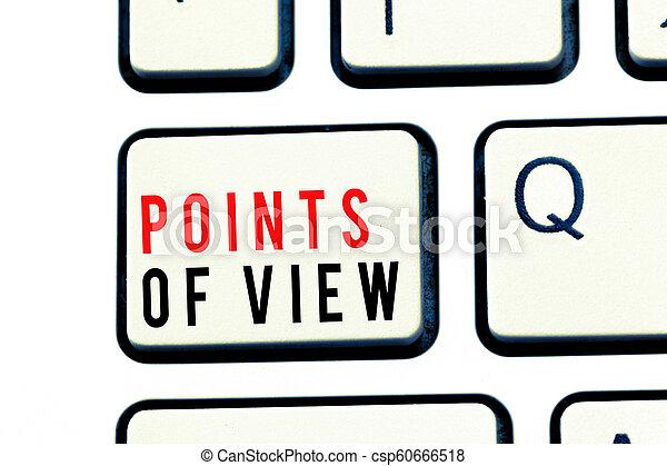 interprétation, business, photo, projection, perspicacité, écriture, note, points, individu, showcasing, opinion, vue., évaluation - csp60666518
