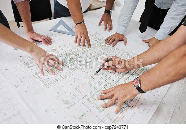 interpretación el sitio, arquitectos, equipo - csp7243771