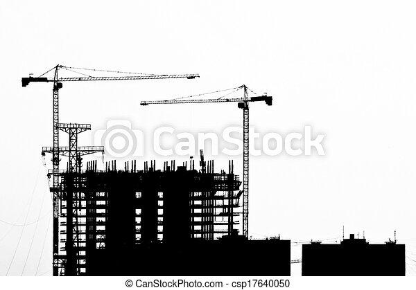 Sitio de construcción - csp17640050