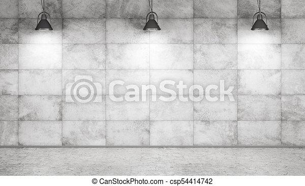 Interpretaci n pared piso concreto plano de fondo - Cemento decorativo para paredes ...