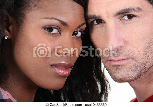 interracial カップル - csp10483360