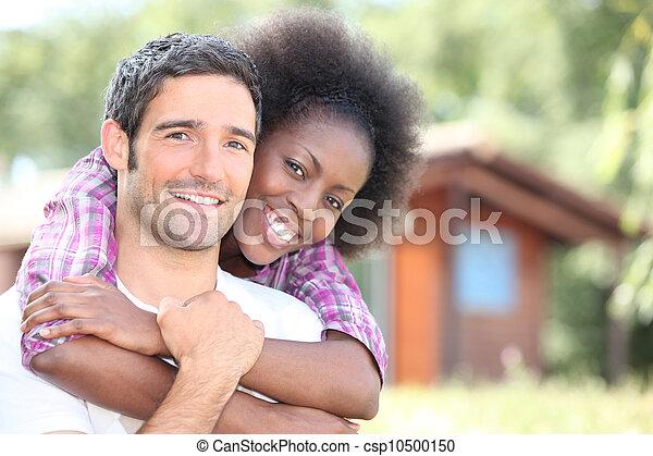interracial カップル, 包含 - csp10500150