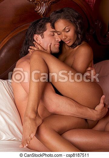White guy black girl having sex photography