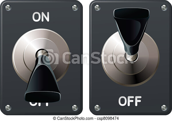 interrupteur à bascule - csp8098474