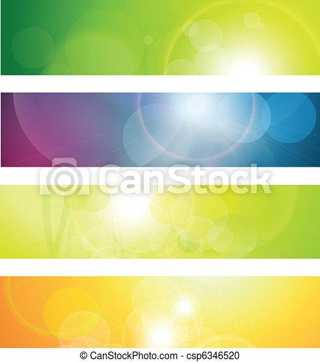 intestazioni, bandiere - csp6346520