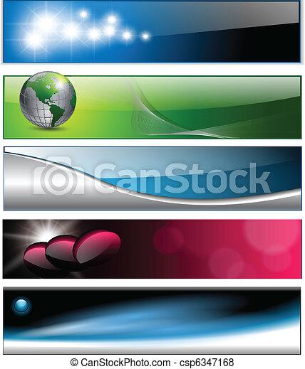 intestazioni, bandiere - csp6347168