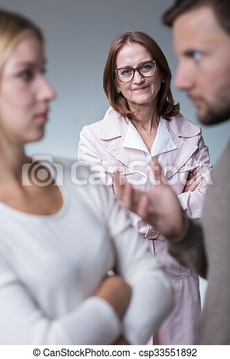 Intrusive mother-in-law