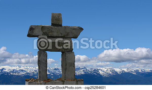 Inukshuk Symbol Of The 2010 Winter Olympics To Be Held In