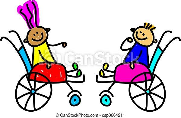 invalide, geitjes - csp0664211