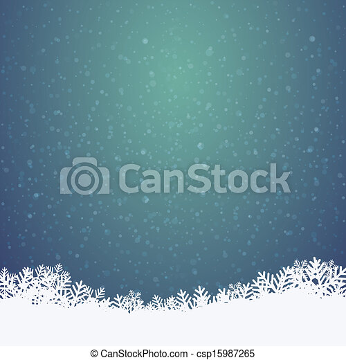 inverno, fondo - csp15987265