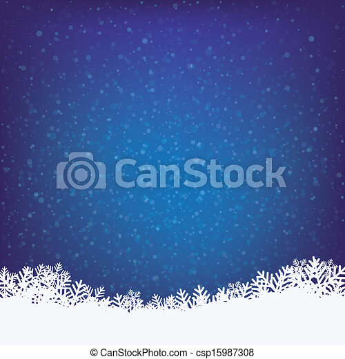 inverno, fondo - csp15987308