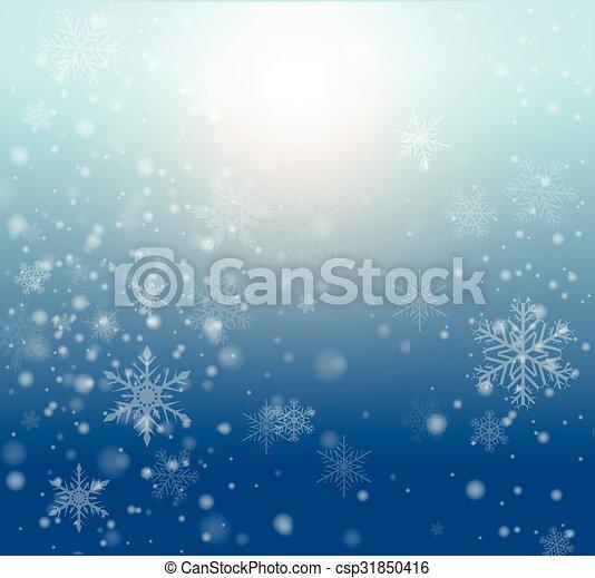 inverno, fondo - csp31850416