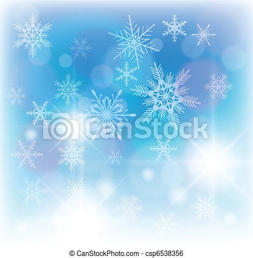 inverno, fondo - csp6538356