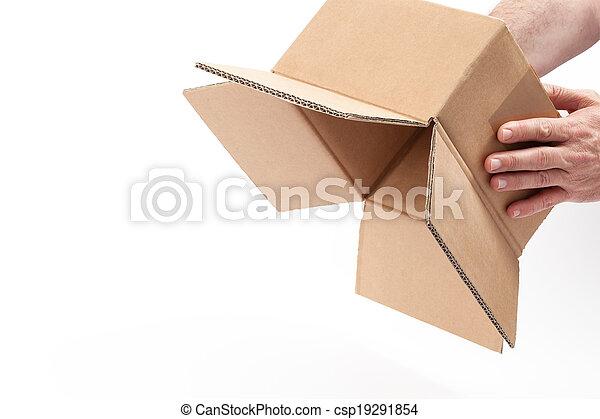Inverted Empty Box - - csp19291854