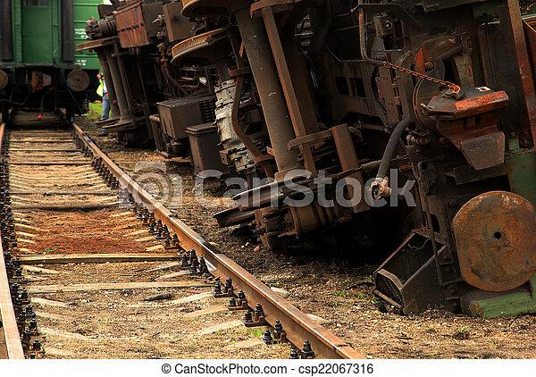 Inverted  train - csp22067316