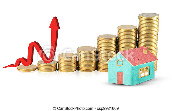 Invest in real estate concept - csp9921809