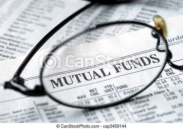 investeren, fonds, wederzijds, brandpunt - csp3459144