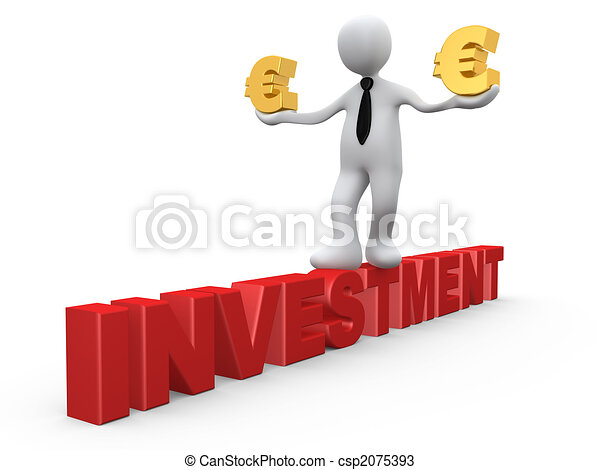 investering, eurobiljet - csp2075393
