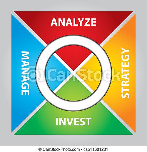 investering, kolli - csp11681281