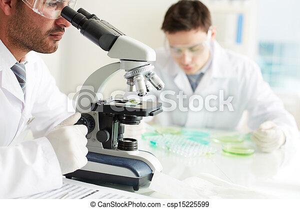 Investigador serio - csp15225599