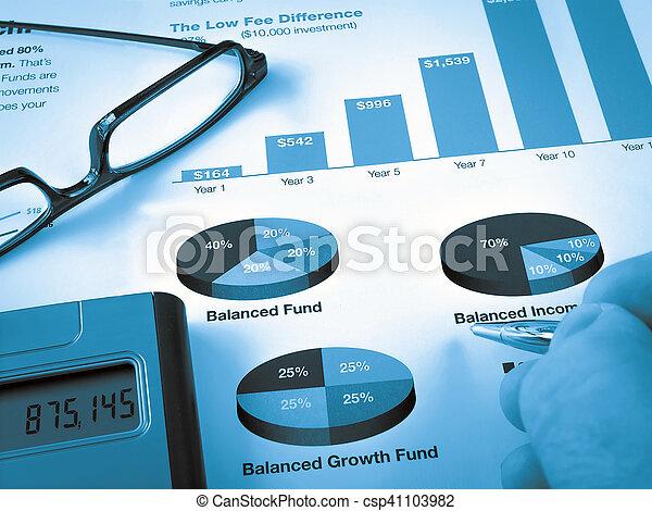 Investment Chart - csp41103982
