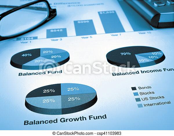 Investment Chart - csp41103983