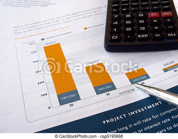 Investment chart - csp5193668