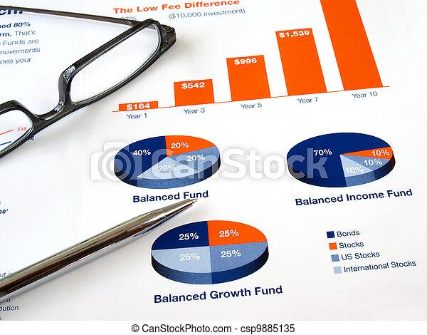 Investment Chart - csp9885135