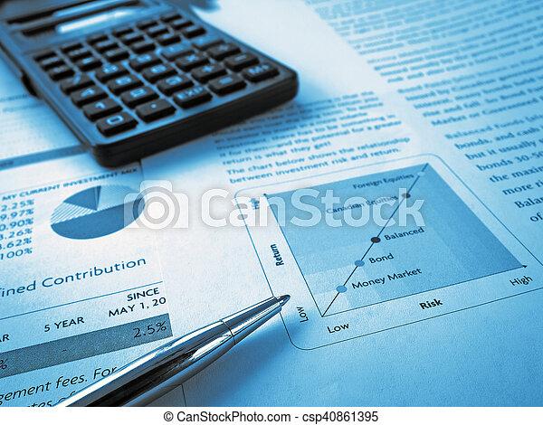 Investment Chart - csp40861395