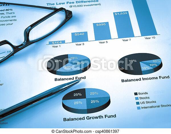 Investment Chart - csp40861397