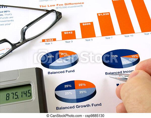 Investment Chart - csp9885130