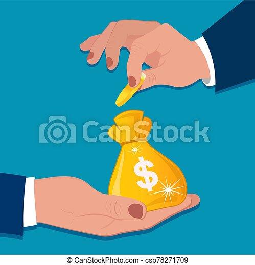 Investment concept, vector illustration - csp78271709