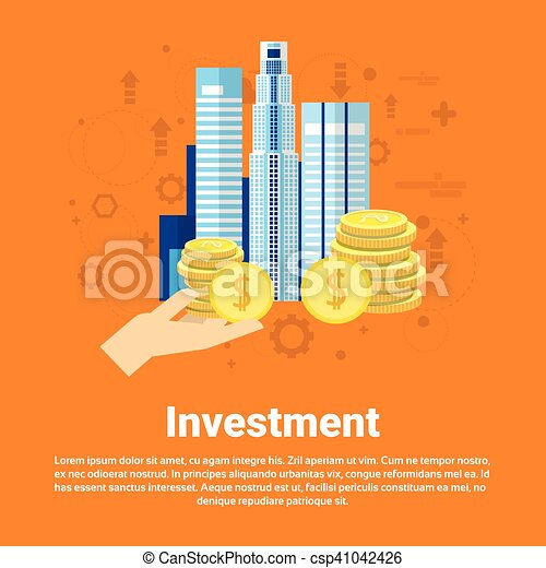 Investment Money Investor Business Web Banner - csp41042426