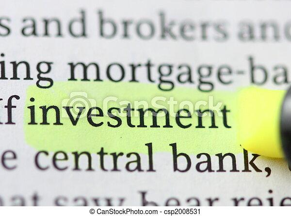 Investment - csp2008531