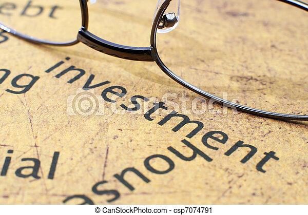 Investment - csp7074791
