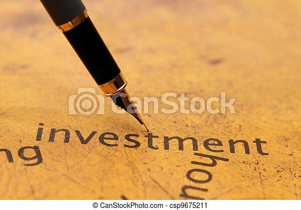 Investment - csp9675211