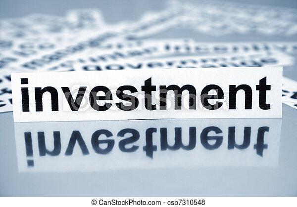 Investment - csp7310548