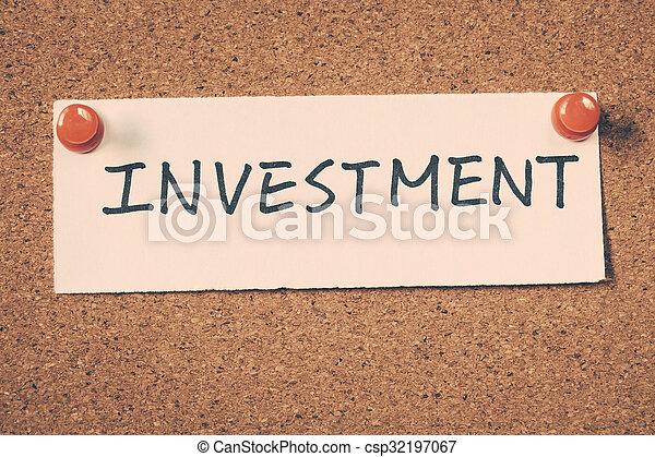 investment - csp32197067
