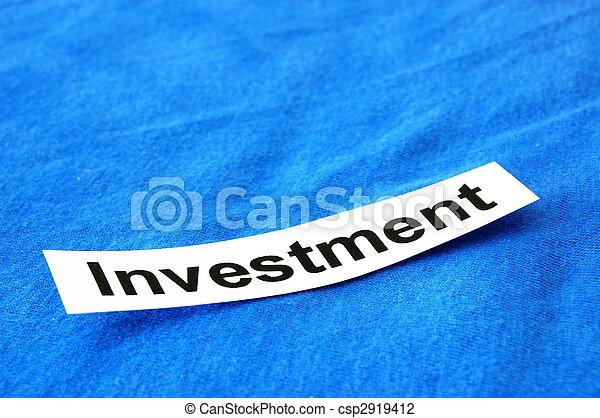 investment - csp2919412