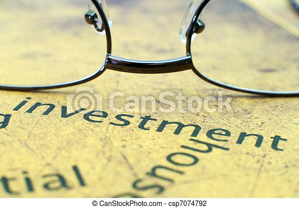 Investment - csp7074792