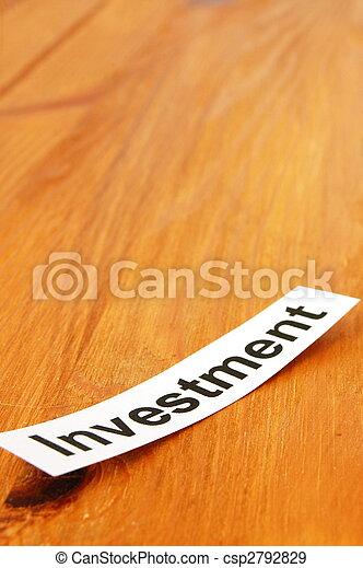 investment - csp2792829